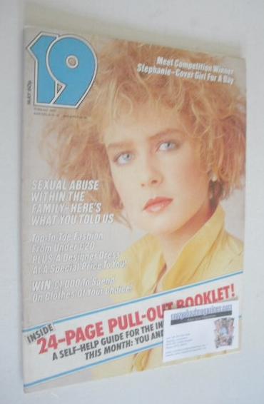 <!--1983-05-->19 magazine - May 1983