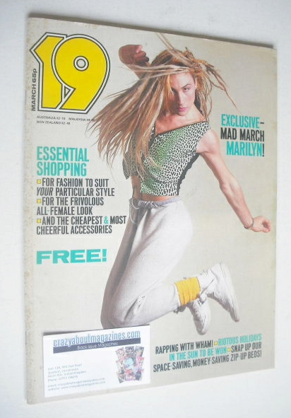 <!--1984-03-->19 magazine - March 1984 - Marilyn cover
