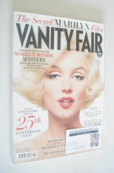 Vanity Fair magazine - Marilyn Monroe cover (October 2008)