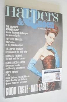 British Harpers & Queen magazine - September 1987