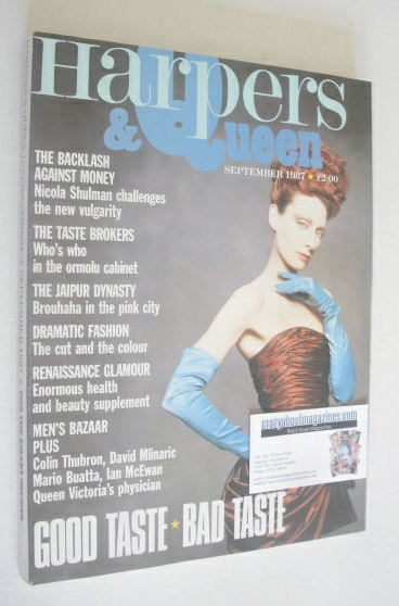 <!--1987-09-->British Harpers & Queen magazine - September 1987
