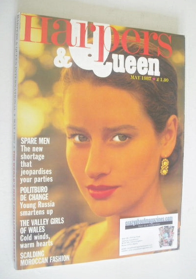 <!--1987-05-->British Harpers & Queen magazine - May 1987