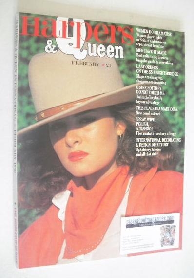 <!--1980-02-->British Harpers & Queen magazine - February 1980