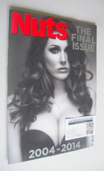 Nuts magazine - Lucy Pinder cover (May 2014 - Final Issue)