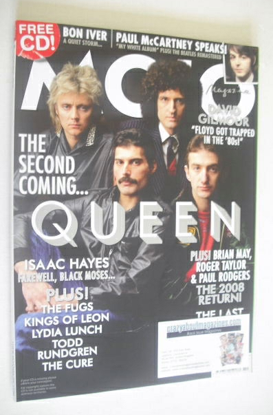 <!--2008-10-->MOJO magazine - Queen cover (October 2008 - Issue 179)