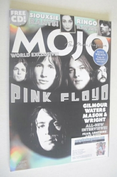 MOJO magazine - Pink Floyd cover (October 2007 - Issue 167)