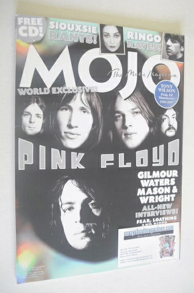 <!--2007-10-->MOJO magazine - Pink Floyd cover (October 2007 - Issue 167)