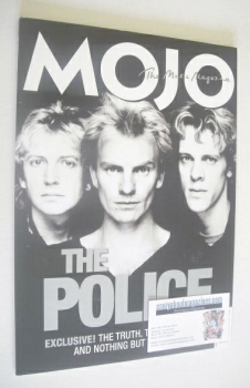 MOJO magazine - The Police cover (August 2007 - Issue 165)
