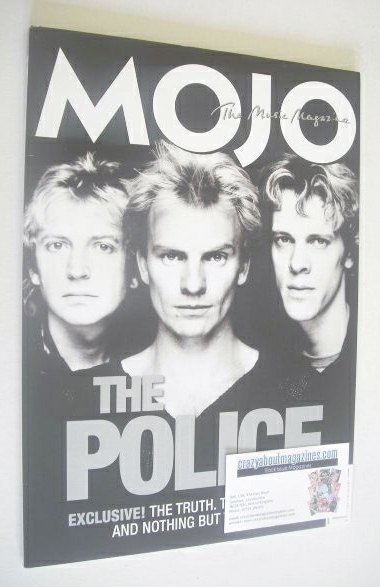 <!--2007-08-->MOJO magazine - The Police cover (August 2007 - Issue 165)