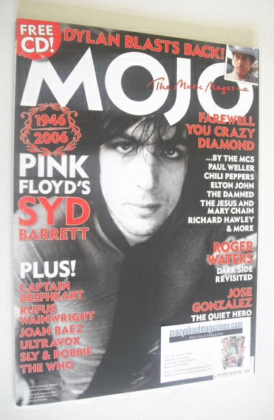 <!--2006-09-->MOJO magazine - Syd Barrett cover (September 2006 - Issue 154