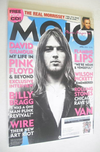 <!--2006-04-->MOJO magazine - David Gilmour cover (April 2006 - Issue 149)