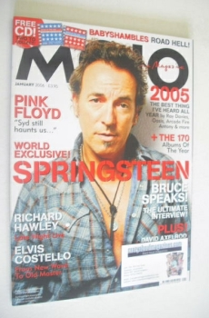 MOJO magazine - Bruce Springsteen cover (January 2006 - Issue 146)
