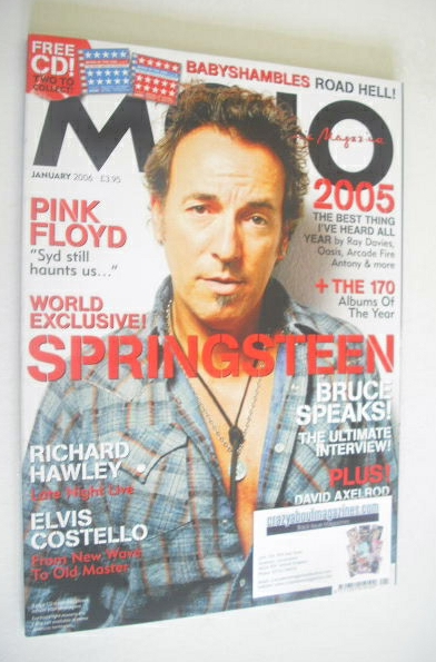 <!--2006-01-->MOJO magazine - Bruce Springsteen cover (January 2006 - Issue