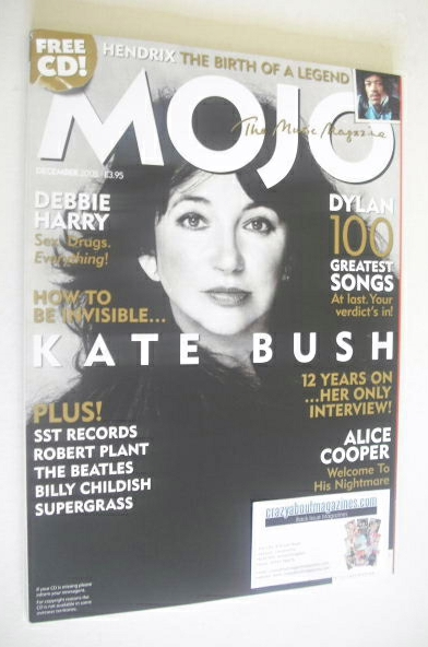 <!--2005-12-->MOJO magazine - Kate Bush cover (December 2005 - Issue 145)