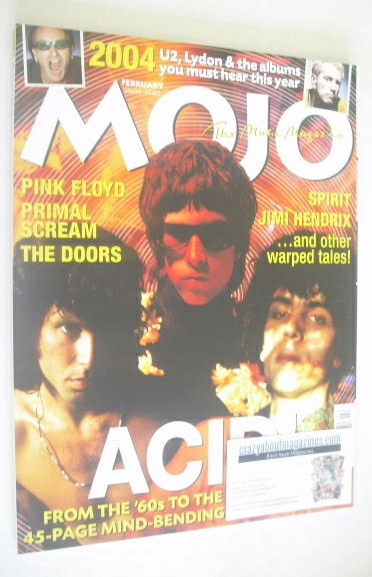 <!--2004-02-->MOJO magazine - February 2004 (Issue 123)