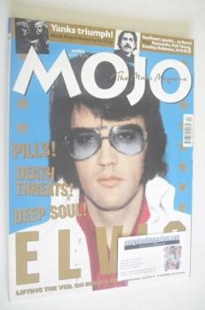 MOJO magazine - Elvis Presley cover (April 2002 - Issue 101)