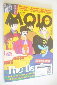 MOJO magazine - The Beatles Yellow Submarine cover (October 1999 - Issue 71)
