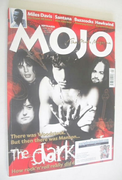 <!--1999-09-->MOJO magazine - The Dark side cover (September 1999 - Issue 7