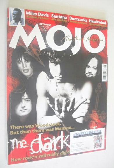 <!--1999-09-->MOJO magazine - The Dark side cover (September 1999 - Issue 7