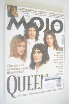 MOJO magazine - Queen cover (August 1999 - Issue 69)