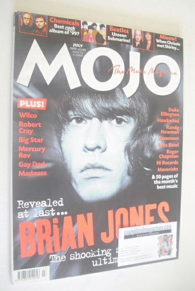 <!--1999-07-->Mojo magazine - Brian Jones cover (July 1999 - Issue 68)