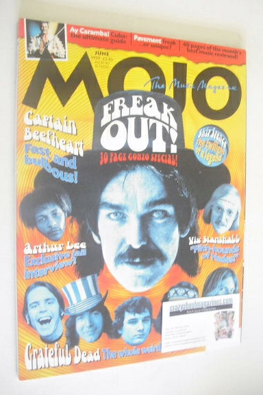 <!--1999-06-->MOJO magazine - Freak Out! cover (June 1999 - Issue 67)