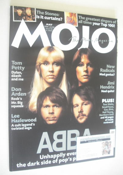 <!--1999-05-->MOJO magazine - ABBA cover (May 1999 - Issue 66)
