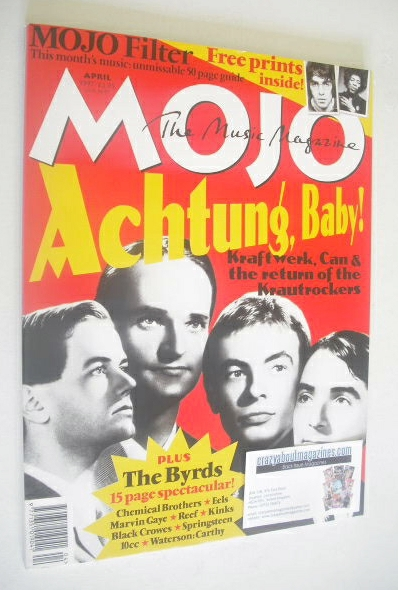<!--1997-04-->MOJO magazine - Achtung, Baby! cover (April 1997 - Issue 41)