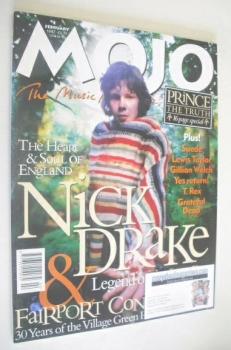 MOJO magazine - Nick Drake cover (February 1997 - Issue 39)