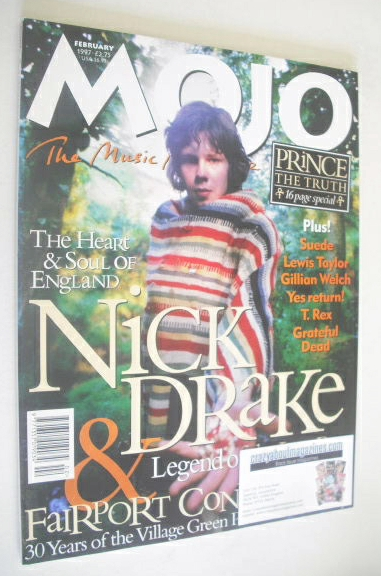 <!--1997-02-->MOJO magazine - Nick Drake cover (February 1997 - Issue 39)