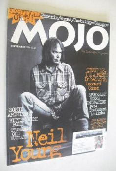 MOJO magazine - Neil Young cover (September 1994 - Issue 10)
