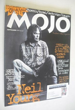 <!--1994-09-->MOJO magazine - Neil Young cover (September 1994 - Issue 10)