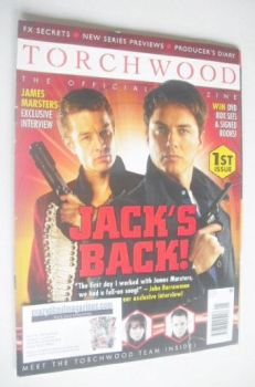 Torchwood magazine - February 2008 - Issue 1
