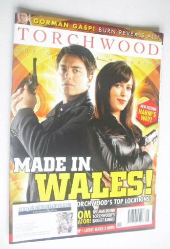 <!--2008-09-->Torchwood magazine - September 2008 - Issue 8