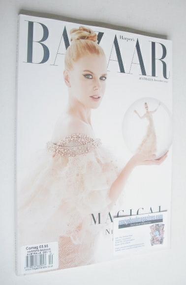 <!--2013-12-->Harper's Bazaar Australia magazine - December 2013 - Nicole K