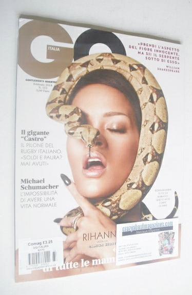 <!--2014-02-->Italy GQ magazine - February 2014 - Rihanna cover