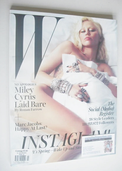 <!--2014-03-->W magazine - March 2014 - Miley Cyrus cover