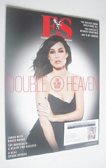 <!--2012-10-19-->Evening Standard magazine - Berenice Marlohe cover (19 Oct