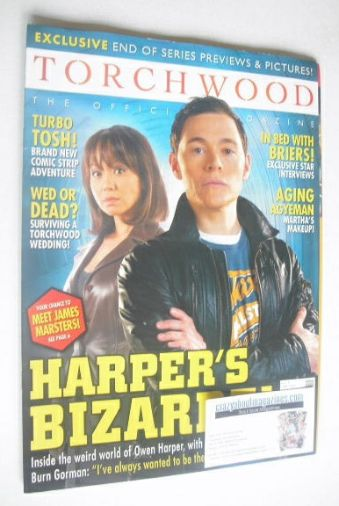 <!--2008-04-->Torchwood magazine - April 2008 - Issue 3