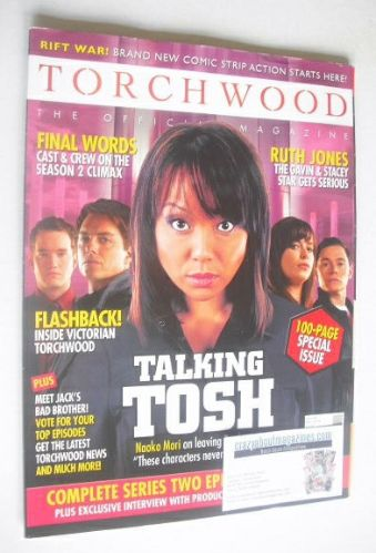 <!--2008-05-->Torchwood magazine - May 2008 - Issue 4