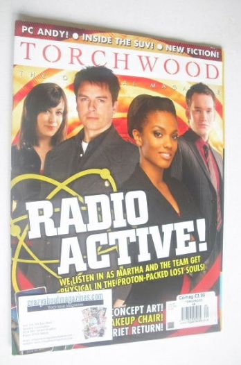 <!--2008-10-->Torchwood magazine - October 2008 - Issue 9