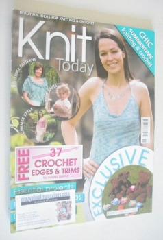 Knit Today magazine (Issue 11 - July 2007)