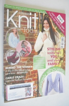 Knit Today magazine (Issue 19 - March 2008)
