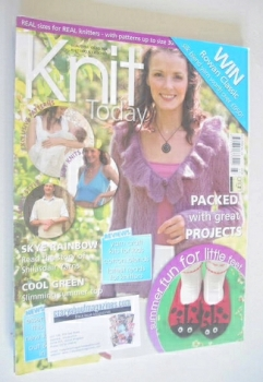 Knit Today magazine (Issue 23 - July 2008)