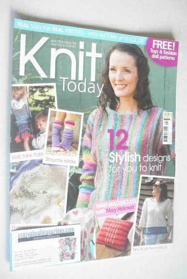 <!--2008-09-->Knit Today magazine (Issue 25 - September 2008)