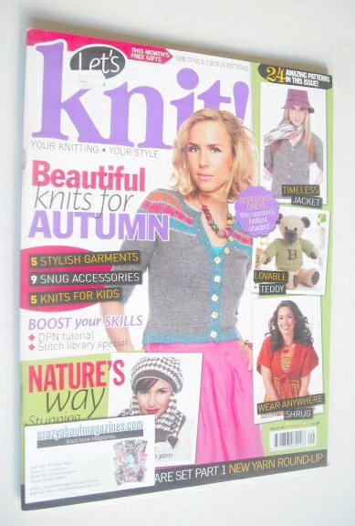<!--2010-09-->Let's Knit magazine (September 2010 - Issue 34)