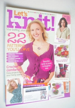Let's Knit magazine (August 2009 - Issue 21)