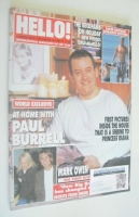 <!--2002-12-10-->Hello! magazine - Paul Burrell cover (10 December 2002 - Issue 743)