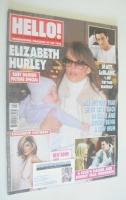 <!--2002-11-05-->Hello! magazine - Elizabeth Hurley cover (5 November 2002 - Issue 738)