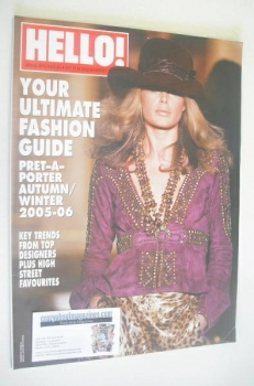 Hello! Fashion magazine - Autumn/Winter 2005/2006 - Doutzen Kroes cover